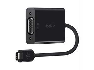 Belkin F2CU037BTBLK Usb-C To Vga Adapter - External Video Adapter - Usb Type-C - D-Sub - Black