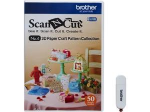 Brother CAUSB4 Scanncut 3D Paper Craft Usb