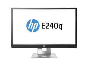 HP M1P01AA Elitedisplay E240Q - Led Monitor - 23.8 Inch - 2560 X 1440 Qhd - Ahva - 300 Cd/M2 - 1000:1 - 7 Ms - Hdmi, Vga, Displayport