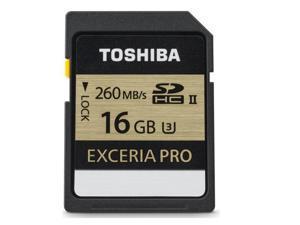 Toshiba THN-N101K0160U6 16Gb Exceria Pro Sd Uhs-Ii U3 Memory Card
