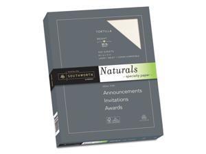 Southworth 99419 Naturals Paper, Tortilla, 8 1/2 X 11, 32Lb, 100 Sheets