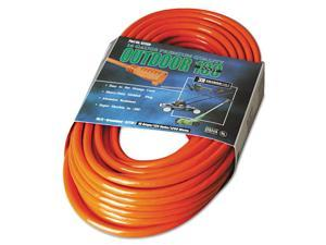 CCI 172-02309 Vinyl Extension Cord, 100Ft, Awg 16/3, Sjtw-A, Orange