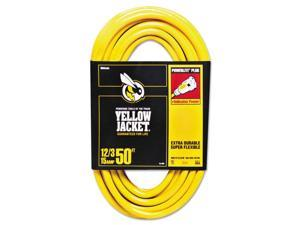 CCI 860-2884 Yellow Jacket Power Cord, 12/3 Awg, 50Ft