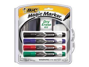 Dry Erase Marker Kit Low Oder Eraser Board Cleaner AST