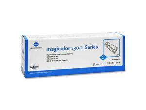 Konica Minolta 1710517-008 Toner Cartridge - 1 X Cyan - 4500 Pages - For Magicolor 2300, 2300W, 2350, Magicolor 2300, 2350