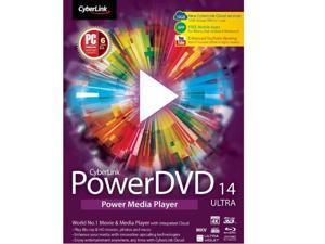Cyberlink UDVD14USULC04 Upgrade Powerdvd 14 Ultra,100 250