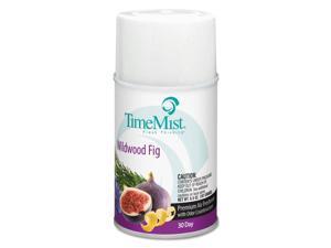 TimeMist 1048493 Metered Aerosol Fragrance Dispenser Refill, Wildwood Fig, 6.6Oz Aerosol, 12/Ct
