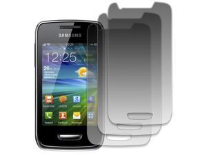 EMPIRE Samsung Wave Y 3 Pack of Screen Protectors [EMPIRE Packaging]