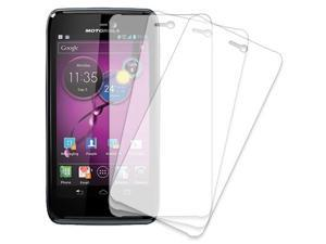 Motorola ATRIX HD Screen Protector Cover, MPERO Motorola ATRIX HD MB886 3 Pack of Screen Protectors