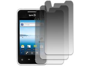 EMPIRE LG Optimus Elite LS696 3 Pack of Invisible Screen Protectors [EMPIRE Packaging]