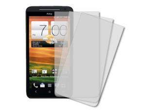 EVO 4G LTE Screen Protectors, MPERO HTC EVO 4G LTE 3 Pack of Screen Protectors [MPERO Packaging]