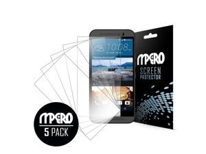 Clear Screen Protector Cover, HTC One M9, 5-Pack
