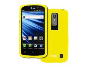 EMPIRE LG Nitro HD Rubberized Hard Case Cover (Yellow) [EMPIRE Packaging]