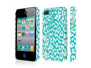 iPhone 4S Case, EMPIRE Signature Series One Piece Slim-Fit Case for Apple iPhone 4 / 4S - Mint Leopard
