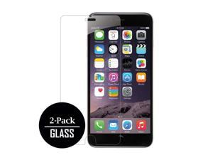 iPhone 6 Plus / iPhone 6S Plus Screen Protector Covers (2 Pack), Bubble Free Oleophoic Coated Tempered GLASS - MPERO