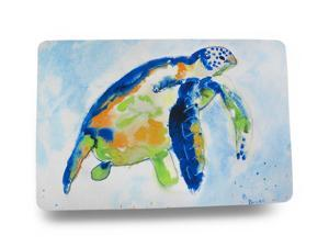 Betsy Drake Colorful Sea Turtle Comfort Floor Mat 18 In. X 26 In.