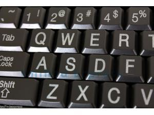 Azio Double Size of Large Print KEYBOARD w/ 3 Colors LED Backlit~USB Wired