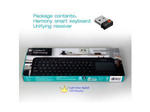 Logitech Harmony Smart Keyboard Add-On for Harmony Ultimate Hub Remotes