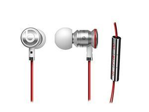 NEW Genuine Urbeats Beats By Dr Dre In Ear Headset Earphones + Pouch - White/Red (NON RETAIL PACKAGING)