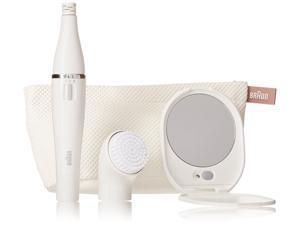 Braun Beauty Edition Facial Cleansing Brush and Facial Epilator