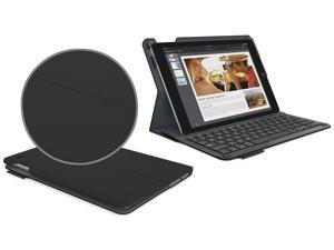 Logitech Type+ Wireless Keyboard Folio Case Textured Surface for iPad Air -Black
