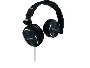 Coby Aluminum Foldz Headphones CVH-804-BLK Black