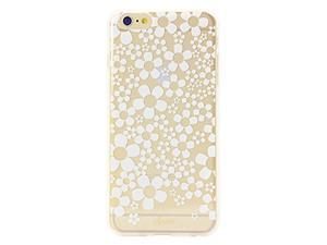 Sonix Clear Rubber Case for Apple iPhone 6 / 6S Hello Daisy Gold