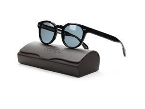 Oliver Peoples 5036S Sheldrake Sunglasses 1005/R8 Black Indigo Blue Photochromic