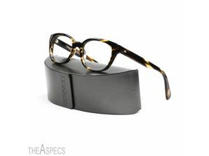 Oliver Peoples Michaela Eyeglasses 1003 Cocobolo Brown Interchangeable Demo Lens