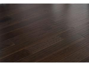"""Everyday Flooring 5"""" x 1/2"""" Solid Engineered Hardwood Wood Flooring Hand Scraped Cacao Dark Brown 22.475 SF"""
