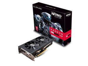 Sapphire Video Card 11260-01-20G NITRO+ RX480 8GB GDDR5 256Bit OC PCI Express 3.0 HDMI/DVI-D Retail