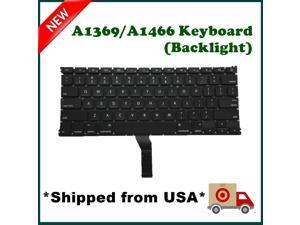 New Macbook Air 13-inch Keyboard A1369 A1466 with Backlight +80pcs Screws + Keyboard Skin