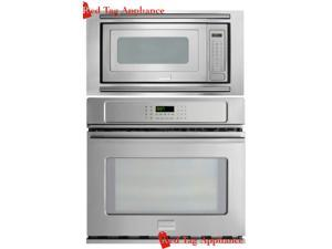 """Frigidaire Professional 27"""" Stainless Steel Electric Wall Oven/Microwave Combo FPEW2785PF_FPMO209KF_MWTKP27KF"""