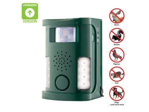 Hoont Robust Electronic Outdoor/Indoor Animal & Pest Repeller - Motion Activated [NEW VERSION]