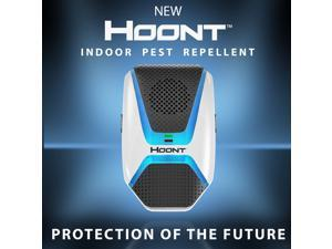 Hoont Indoor Electronic Pest Repeller with Advanced Repelling Technology + Night Light - Get Rid of All Types of Insects and Rodents