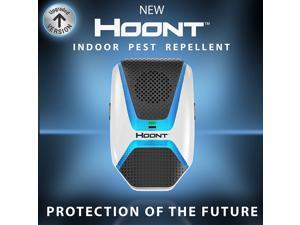 Hoont Indoor Electronic Pest Repeller with Advanced Repelling Technology + Night Light - Get Rid of All Types of Insects and Rodents [UPGRADED VERSION]