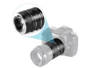 Neewer® 3-piece(12-20-36mm) Macro Automatic Extension Tube Set DG for Canon EOS 1D 1Ds 5D Mark 2 3 II III 6D 7D Rebel SL1 XT XTi XS XSi T1i T2i Digital SLR Camera