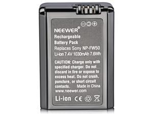 Neewer 7.2V 1080mAh Camera Battery Replacement FW50 for Sony Alpha 7, a7, Alpha 7R, a7R, Alpha 7S, a7S, Alpha a3000, Alpha a5000, Alpha a6000, NEX-3, NEX-3N, NEX-5, NEX-5N, NEX-5R, NEX-5T, NEX-6
