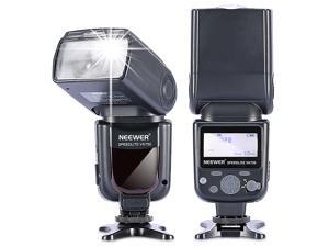 Neewer NW580/VK750 Speedlite Flash with LCD Display for Canon & Nikon Digital DSLR Cameras, such as Canon EOS 5D Mark III , 5D Mark II, 1Ds Mark 6D, 5D, 7D, 60D, 50D, 40D, 30D, 300D, 100D, 350D, 400D
