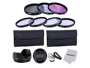 Neewer® 52MM Professional Lens Filter and Close-up Macro Accessory Kit for Canon EOS 400D Nikon Sony Samsung Fujifilm Pentax and Other DSLR Camera Lenses with 52MM Filter Thread - Includes Filter Kit