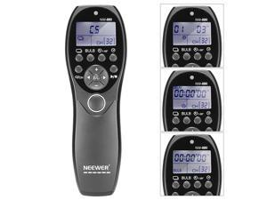 Neewer® LCD Display Shutter Release Wired Timer Remote Control NW-880/DC0