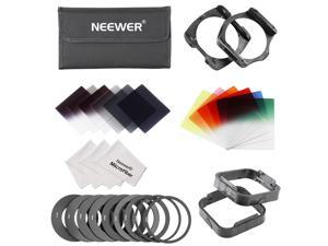 Neewer Complete Square Filter Kit for Cokin P Series - Grey
