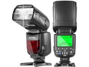 Neewer® NW660III 2.4G E-TTL HSS 1/8000s LCD Display Wireless Master/Slave Flash Speedlight for Canon 7D 70D T5i/700D T4i/650D T3i/600D T2i/55OD T1i/500D SL1/100D and All Other Canon DSLR Cameras