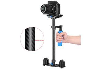 "Neewer Carbon Fiber 24""/60cm Handheld Stabilizer with Quick Release Plate 1/4"" and 3/8"" Screw for DSLR and Video Cameras up to 6.6lbs/3kg"