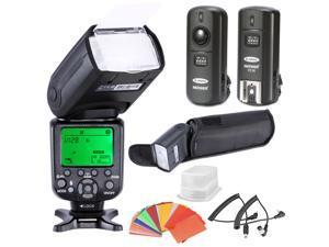 Neewer *High Speed Sync* i-TTL Camera Master/Slave Flash Kit for Nikon D4S D4 D3S D800 D700 D80 D90 D7000 D7100 D50 D40X D60 D5000 D5100 D5200 D5300 D40 D3000 D3100 D3200 and Other Nikon DSLR Cameras