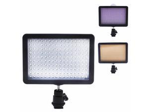 Neewer Ultra High Power 160 LED Video Light Panel with Shoe Adapter for Canon, Nikon, Olympus, Pentax DSLR and Camcorders