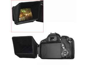 """Neewer 3"""" LCD Screen Sun Shield Hood for DSLR Cameras and Camcorders, such as Canon EOS 70D 60D, Rebel T5i/700D T4i/650D T3i/600D, Canon PowerShot SX50 HS SX40HS, Canon Vixia HV30 HF R500 HF M50"""