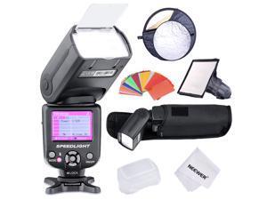Neewer *COLOR-SCREEN* E-TTL Slave Camera Flash Kit for Canon EOS 700D/T5i 650D/T4i 600D/T3i 1100D400D/XTi 450D/XSi 300D/Digital Rebel 20D 30D 60D 5D Mark III 3 II 2 and Other Canon DSLR Cameras