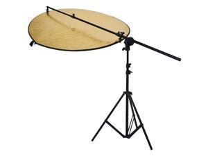 "Neewer Photo Studio Reflector Kit,Include:(1)43"" 5-in-1 Collapsible Multi-Disc Light Reflector+(1)Bracket Grip Holder 24""-47"" Swivel Head Reflector Arm Support +(1)6 Feet/75""  Photography Light Stand"