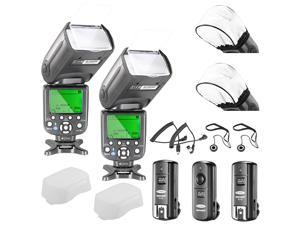 Neewer® NW982N-II *High Speed Sync* i-TTL Camera Master/Slave Flash Kit for Nikon D4S D4 D3S D800 D700 D80 D90 D7000 D7100 D40X D5000 D5100 D5200 D5300 D40 D3000 D3100 and Other Nikon DSLR Cameras